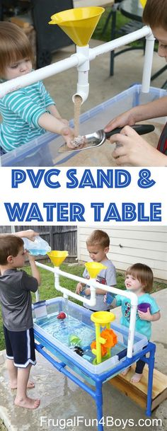 Make Sand & Water Table For Kids