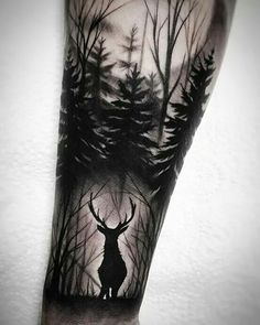 Amazing And Unique Arm Tattoo Designs For Women; Amazing And Unique Arm Tattoo; Forest Tattoo Sleeve, Nature Tattoo Sleeve, Wolf Tattoo Sleeve, Sleeve Tattoos For Women, Tattoo Sleeve Designs, Tattoo Designs For Women, Tattoo Nature, Tattoo Women, Leg Tattoo Sleeves