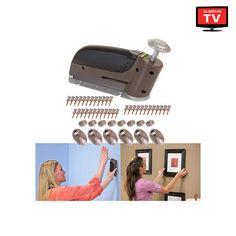 47-Piece Set: As Seen On TV InstaHang™ Secure Wall Hanger Peg Dispenser