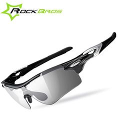 16.82$  Buy here - http://ali24e.shopchina.info/go.php?t=32795679045 - ROCKBROS Polarized Photochromic Cycling Glasses Bike Glasses Outdoor Sports Bicycle Sunglasses Goggles Eyewear Myopia Frame 16.82$ #magazineonline