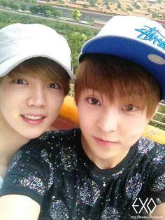 Xiumin & Luhan ^^
