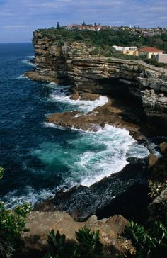 """'""""The Gap"""" coastal cliffs of Sydney Harbour National Park.' by Lonely Planet"""