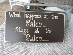 What happens at the ... Stays at the ... Sign Wall Sign Carved Engraved 8x15
