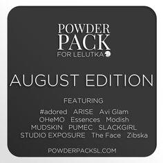 Powder Pack lineup for August Lelutka Ed. | by zibska