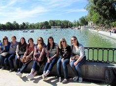 El Retiro in Madrid, Spain. Could not have been a more perfect first stop in Spain!