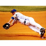 bb89296d196 David Wright Autographed NY Mets Dive Horizontal 16x20 Photo Ny Mets
