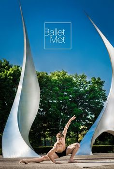 Photo by Zaire Kacz for BalletMet in Columbus Ohio. At Franklin Park Conservatory.