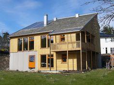 Miljøvennlig hus med lav energibruk