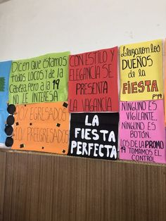 Fiesta De Egresados Senior Quotes, Ideas Para Fiestas, Simple Art, School, Instagram, Craft, Tumblr, Decor, Classroom Quotes