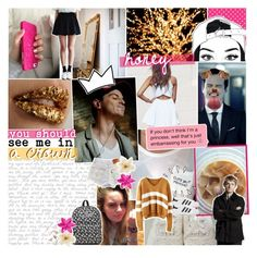 """♡ bottvshow » honey, you should see me in a crown"" by tightrope-of-weird ❤ liked on Polyvore featuring Prada, Old Navy, adidas Originals, Vans, Bobbi Brown Cosmetics, Clips and bottvshow109"