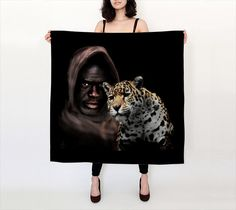 100 Silk Habotai Scarf  ORIGINAL ARTWORK by EndlessSkysArtwork, $57.00