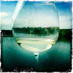 Lake life through the wine glass