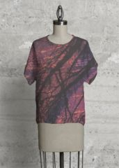17W | Morning Sun Tee  Designed by Shannon Reed via VIDA #VIDA #clothing #design #artist #fashion