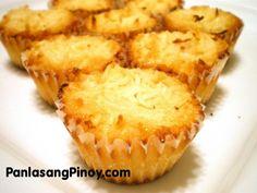 How to Make Filipino-style coconut macaroons « Dessert Recipes :: WonderHowTo Pinoy Dessert, Filipino Desserts, Asian Desserts, Filipino Recipes, Easy Desserts, Delicious Desserts, Dessert Recipes, Yummy Food, Filipino Food