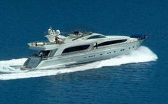 A well definition in sweet luxury is this superb 33.5 m (110.0 ft) motor yacht Tatiana. She offers 5 spacious and well designed cabins for guests to enjoy their privacy on board. / http://yachtsngulets.com/tatiana-motor-yacht.html