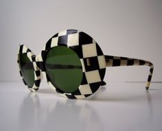 1960's Op-Art sunglasses