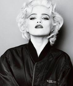 Sky Ferreira channels Madonna (via V Magazine)