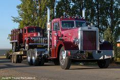 """For PETE's Sake"" (Vintage Peterbilt Appreciation! Big Rig Trucks, Dump Trucks, Hot Rod Trucks, Cool Trucks, Custom Big Rigs, Custom Trucks, Gmc Motorhome, Peterbilt Trucks, Chevy Trucks"
