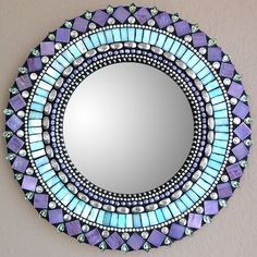 Mirror Purple Would look good in my ocean bathroom
