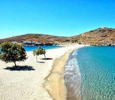Kythnos island-Kolona beach - Aegean Sea, Greece