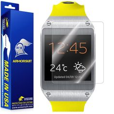 ArmorSuit MilitaryShield - Samsung Galaxy Gear Screen Protector Shield   Lifetime Replacements ** More info could be found at the image url.