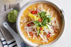 Malaysian Laksa: Spark up your meal with quick, delicious and filling noodles.