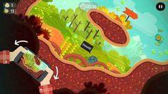 """The Big Journey - una splendida avventura """"rotolante"""" da provare su iPhone e Android! Con """"The Big Journey"""" per iPhone e Android potrete godervi una bellissima (ed estremamente varia) avventura!  Nei panni di un simpatico micio """"gommoso"""" dovrete affrontare una lunghissima serie di l #android #iphone #videogiochi #videogames"""
