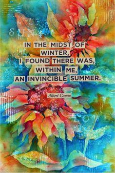 ~Albert Camus