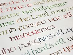 Irish Half Uncial, Psalm 103