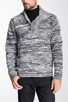 Impermeable Vintage Marled Knit Pullover Sweater by Impermeable on @HauteLook