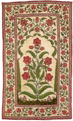 mehrab floral Indian Patterns, Textile Patterns, Textile Prints, Textile Design, Indian Prints, Indian Art, Asian Flowers, Floor Cloth, Fashion Illustration Sketches