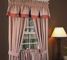 logan check curtain