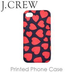 J.Crew Printed iPhone Case Heart