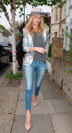 Rosie Huntingdon-Whitely, London
