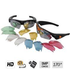 Caméra cachée couleur avec DVR dans une Lunette HD - 5 mégapixels - grand angle 170° - Jusqu'à 32 Go
