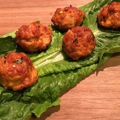 Light and Spicy Kimchee Meatballs