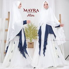 Aliva Syari by Mayra Party Wear Dresses, Baby Dolls, Coat, Womens Fashion, Instagram Posts, How To Wear, Jackets, Temples, Gowns For Party