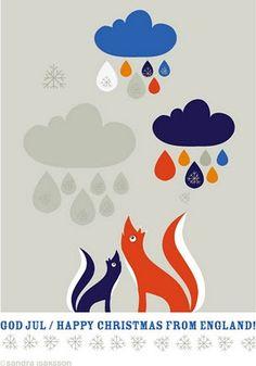 fox & rain