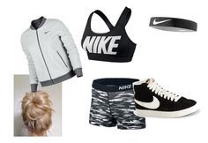 """""""NIke"""" by xx-angel92-xx ❤ liked on Polyvore featuring NIKE"""