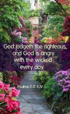 ~J Psalm 7:11 KJV