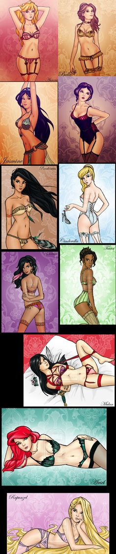 Sexy Disney Princesses