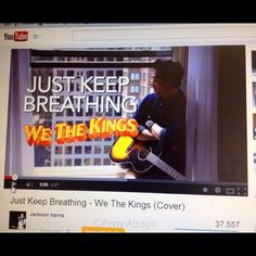 Day 12 of #100happydays: Music...My favorite @wethekingsofficial song covered by my other favorite singer @jacksonharris! #enjoyingthislife May just listen to this song all day!