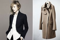 Jil-Sander-Uniqlo-Collection Jil Sander, Uniqlo, Editorial Fashion, Hair Cuts, Content, Simple, Coat, Jackets, Collection