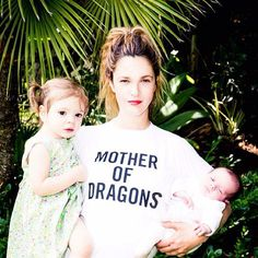 Pin for Later: The Sweetest Candid Celebrity Mom Snaps Drew Barrymore With Olive and Frankie