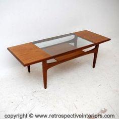 Retro Teak G- Plan Fresco Coffee Table Vintage 1960's