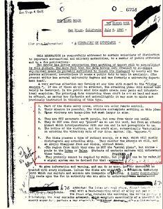Documento do FBI revela: Parte dos discos carrega tripulações; outros estão sob controle remoto. Sua missão é pacífica...