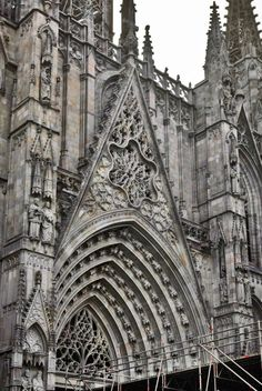 Ornate Pre Gothic Facade Before The Buttresses Flew