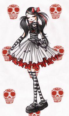 Punk Lolita by ~sweet-kaori on deviantART
