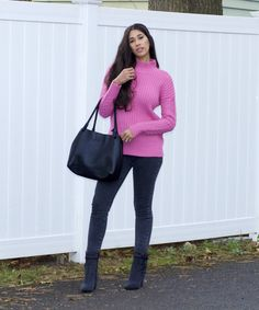 In this blog post, I'm sharing some tips on wearing denim on denim differently. I've also shared a similar pair of denim boots to what I wearing, but in classic blue. Stop by to read and shop! Black Leather Pants, Leather Jeans, Black Denim, Denim Boots, Denim Outfit, Only Fashion, Fashion Beauty, Winter Style, Autumn Winter Fashion