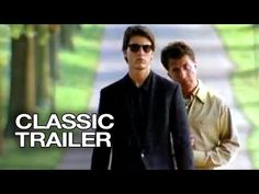 RAIN MAN (1988) Dustin Hofman and Tom Cruise. 4 Oscar Academy Awards including Best Picture